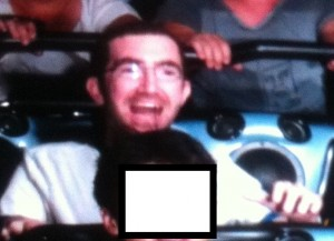 Me on Space Mountain