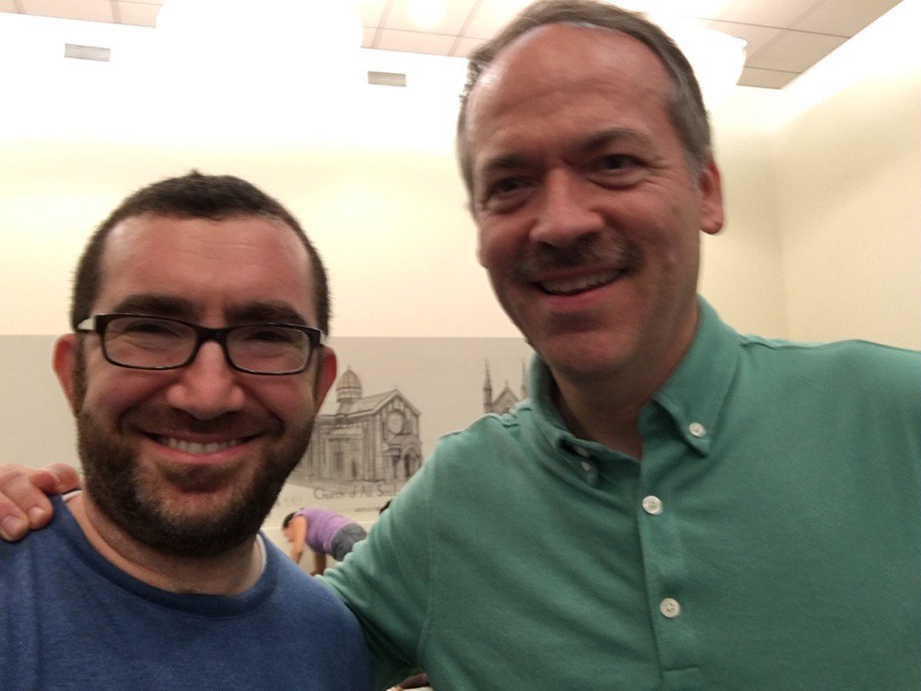 me and Will Shortz
